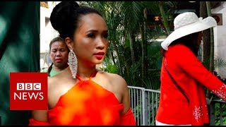 Download From maids to beauty queens - BBC News Video