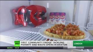 Download 1st ″community fridge″ opens in Brixton Video