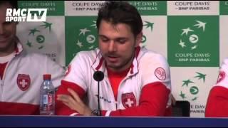 Download Tennis / Coupe Davis - Wawrinka ″bourré″ en conférence de presse - 23/11 Video