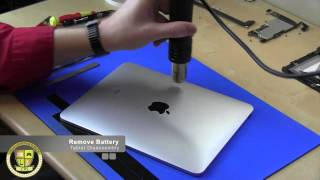 Download iPad 1st Generation Disassembly/Reassembly Repair Part 1 Video
