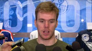 Download RAW | McDavid Exit Interview Video