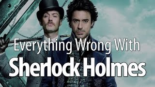 Download Everything Wrong With Sherlock Holmes in 13 Minutes Or Less Video