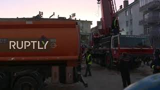 Download LIVE: Rescue operations continue after earthquake hits eastern Turkey Video
