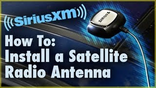 Download How to Install a Satellite Radio Antenna (Car Stereo) | Car Audio 101 Video