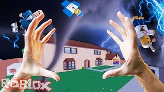 Download REALISTIC TORNADO IN ROBLOX - Natural Disasters Mod - Realistic Roblox Video