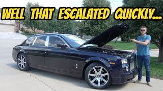 Download Was Buying the Cheapest Rolls-Royce Phantom in the USA Worth It? Totaling Up Repairs... Video