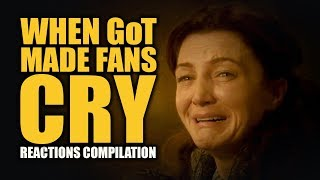 Download WHEN GoT MADE FANS CRY Reactions Compilation Video