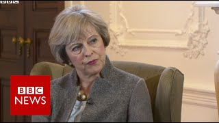 Download Brexit 'may bring difficult times' says Theresa May - BBC News Video