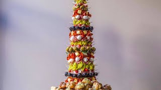 Download How to Make An Antipasto Tree with Garlic Knots Video