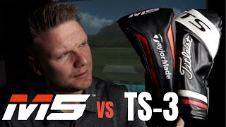 Download Titleist TS3 Driver vs Taylormade M5 Driver Video