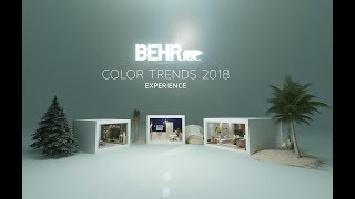 Download BEHR COLOR TRENDS 2018 VR 360 Experience Video