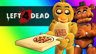 Download Five Nights At Freddy's Vs. Minecraft! (Left 4 Dead 2 Funny Moments and Mods) Video