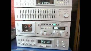 Download AKAI AP-Q80C, AM-U04, GX-F80, EA-G80, AT-S06, MM-77 & DT-200, SW-155... Part 2. Video