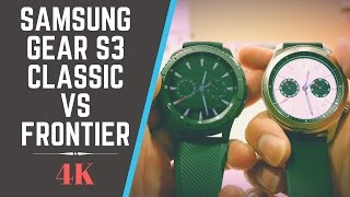 Download Samsung Gear S3 Classic vs Frontier Video