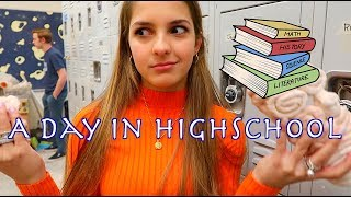 Download A DAY IN MY LIFE AT HIGH SCHOOL! Video