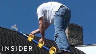 Download Lightweight Ladder Makes Roof Work Safer Video