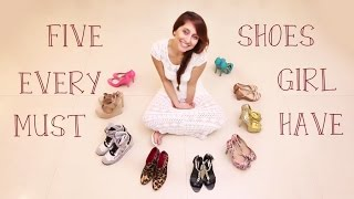 Download Five Shoes Every Girl MUST HAVE! | Anusha Dandekar Video