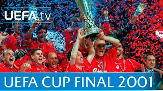 Download 2001 UEFA Cup final highlights - Liverpool-Alaves Video