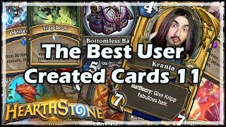 Download [Hearthstone] The Best User Created Cards 11 Video