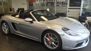 Download Porsche 718 Boxster S Interior/Exterior Tour + Startup and Revs! Video