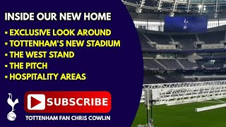 Download INSIDE TOTTENHAM'S NEW STADIUM: The West Stand, The Pitch, Hospitality Areas: 27 December 2018 Video
