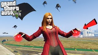 Download SCARLET WITCH AVENGERS MOD - GTA 5 MODS Video
