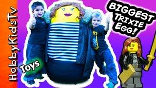 Download Giant Trixie Surprise LEGO Egg Video