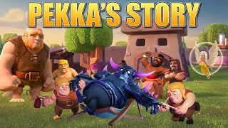 Download Clash of Clans Story - How the P.E.K.K.A was created & the Origin of the Builders!   CoC Fan Story Video