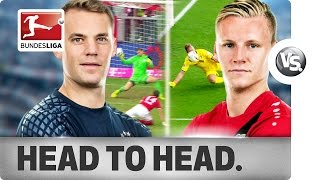 Download Manuel Neuer vs. Bernd Leno - World Class Goalkeepers go Head-to-Head Video
