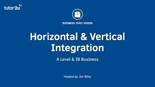 Download Business Growth Strategy - Horizontal and Vertical Integration Video