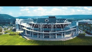 Download Penn State Beaver Stadium Drone Flyover Video