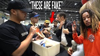 Download WE CAUGHT FAKES IN SNEAKERCON LONDON USING THE SNEAKERCON APP !!! Video