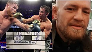 Download McGregor & Others React to Canelo Vs. GGG Controversy Video
