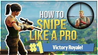 Download HOW TO WIN | Sniper Guide and Tips (Fortnite Battle Royale) Video