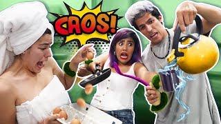 Download LOS 3 NOS ESPOSAMOS 24 HORAS | LOS POLINESIOS RETO Video