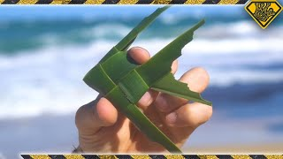 Download How To Make a ″Fish On A Stick″ Toy (Cool Palm Leaf Craft) Video