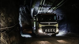 Download Volvo Trucks - The world's first self-driving truck in an underground mine Video