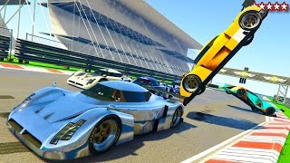 Download GTA 5 Real World Tracks - GTA 5 LE MANS Championships - BEST GTA 5 Online REAL WORLD TRACKS & RACES Video