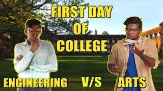 Download FIRST DAY OF COLLEGE ENGINEERING VS ARTS | STARBUCKS KARUVADU Video