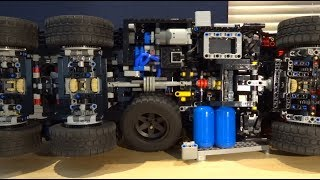 Download Mercedes Zetros 2733 - Behind the MOC - Lego Technic + SBrick + BuWizz Video