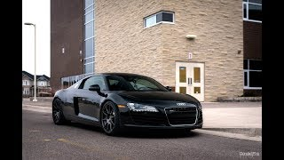 Download 2008 Audi R8 Walkaround: A DECADE later! Video