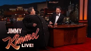 "Download Ben Affleck Sneaks Matt Damon Onto ""Jimmy Kimmel Live!″ Video"