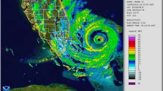 Download Hurricane Matthew 2016 Radar Loop Video