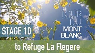 Download Tour du Mont Blanc   Stage 10 - to La Flegere   TMB 2016 Video