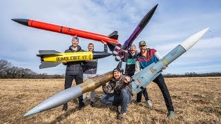 Download Model Rocket Battle 2 | Dude Perfect Video