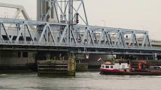 Download Laatste trein over oude Botlekbrug Video