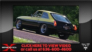 Download 1974 MG B Coupe    For Sale Video