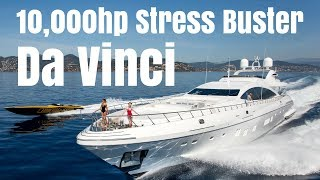Download Mangusta 165 Charter Yacht ″Da VincI″. The 10,000hp Stress-Buster! Video