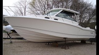 Download 2019 Boston Whaler 315 Conquest Boat For Sale at MarineMax Wakefield, RI Video