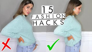 Download 15 Game Changing Fashion Hacks You're Missing in Your Life! Video